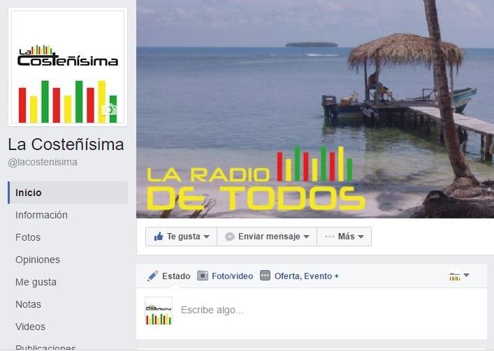 Estamos en Facebook, con nueva imagen y nueva fanpage. Síguenos como La Costeñísima.