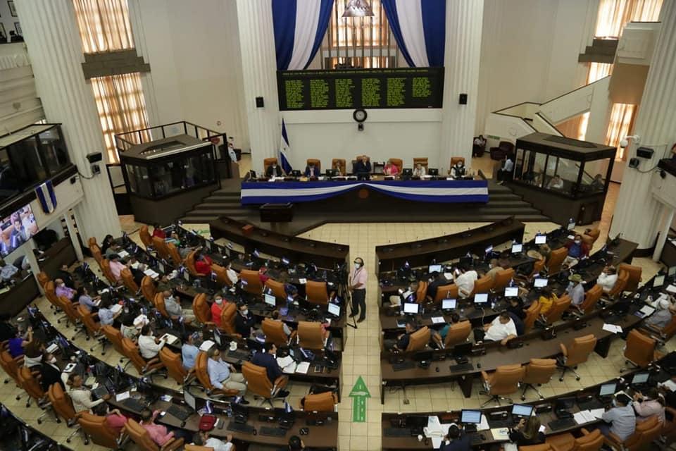 Asamblea Nacional en pleno para aprobar Ley Putín
