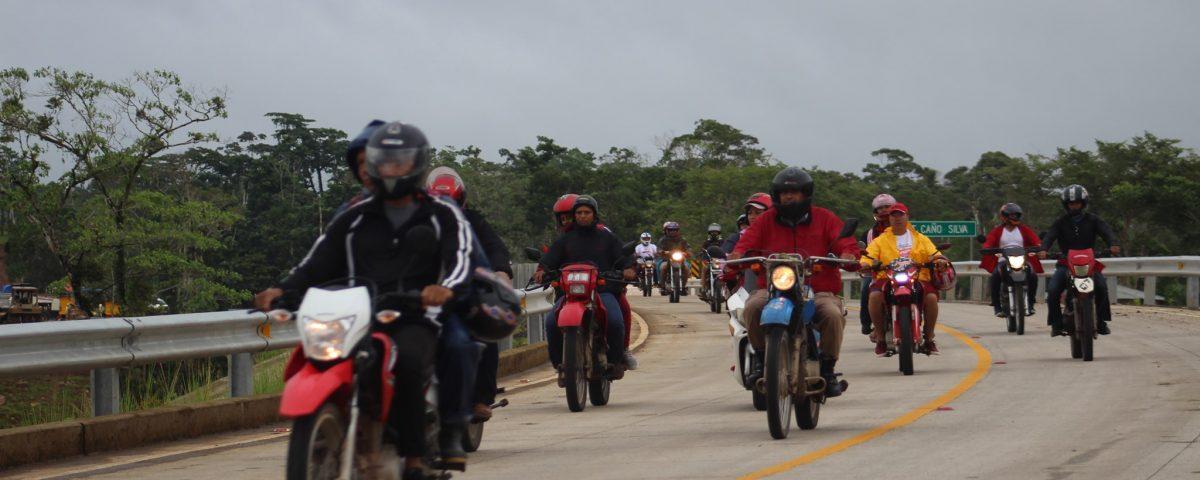Motocicletas en Bluefields