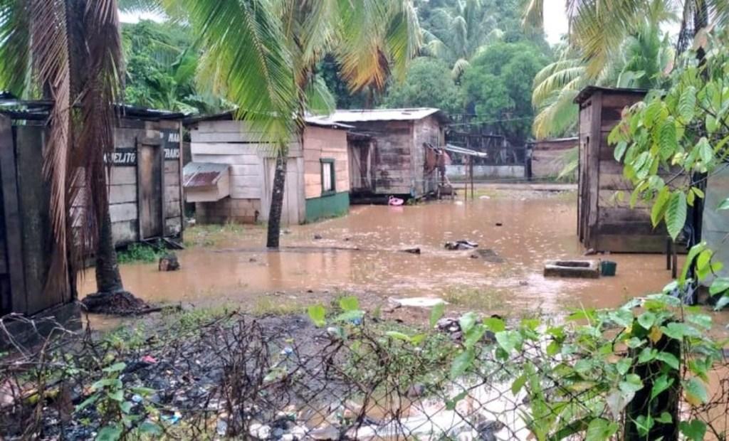 Inundaciones en Triángulo Minero. Cortesía
