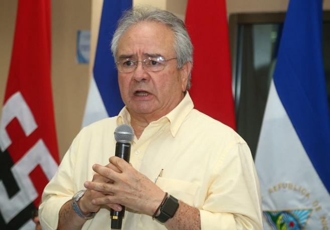 Secretario general del Frente Nacional de los trabajadores (FNT), diputado, sindicalista, Gustavo Porras. Cortesía