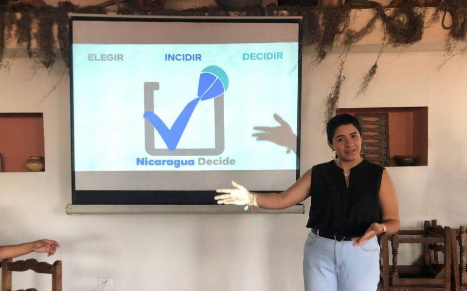 Los miembros de la iniciativa invitaron a la población nicaragüense dentro y fuera del país a participar en esta consulta, a través de su sitio web. Cortesía